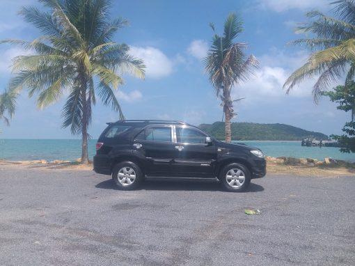 7 seats car for rent koh phangan