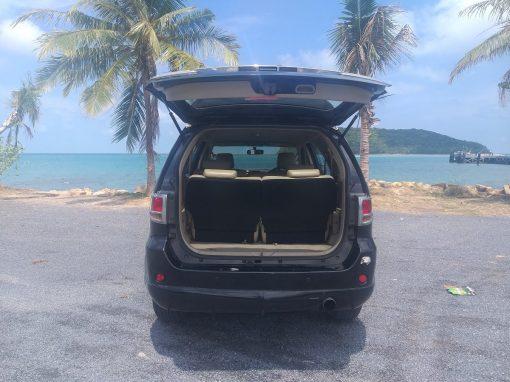 7 seats car hire koh phangan