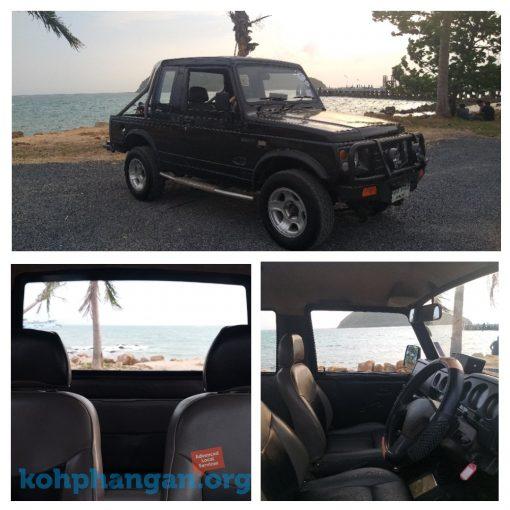 Suzuki Caribian Jeep For Rent in Koh Phangan