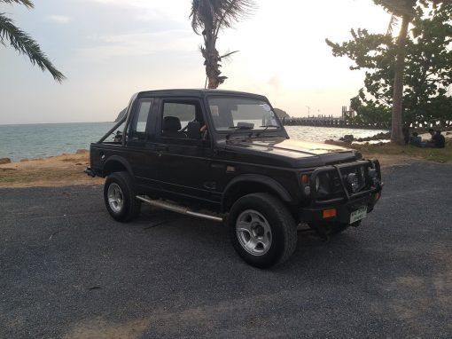 Suzuki Jeep for Hire in Koh Phangan - 2