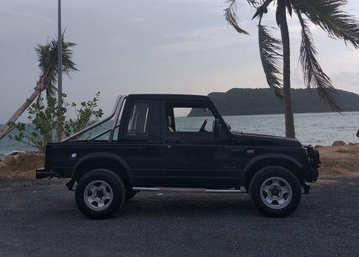 Suzuki Jeep for Hire in Koh Phangan - 4