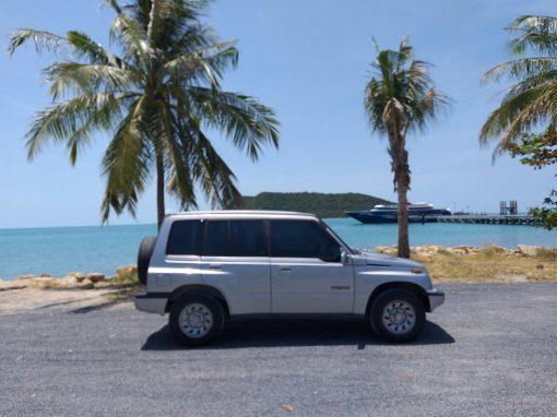 Car for hire Long term Koh Phangan Suzuki Vitara