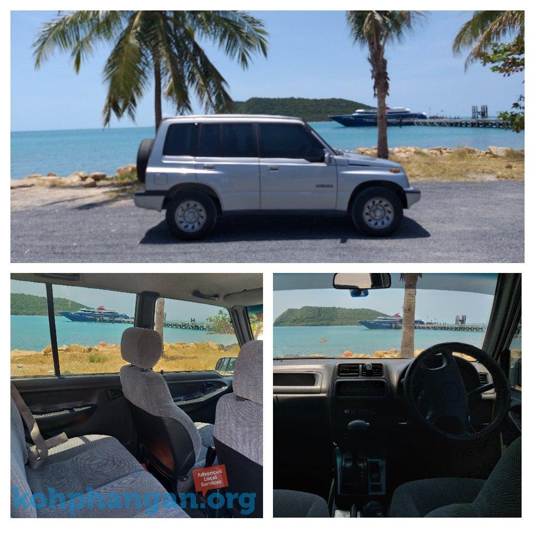 Suzuki Vitara Jeep For Rent in Koh Phangan