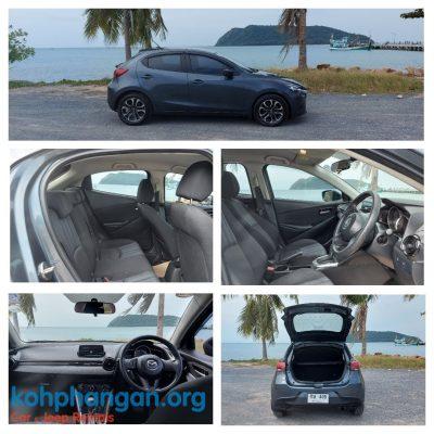 Mazda Cheap small car rental in Koh Phangan